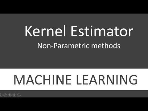 Kernel Estimator - Non-parametric Density Estimation in Machine learning