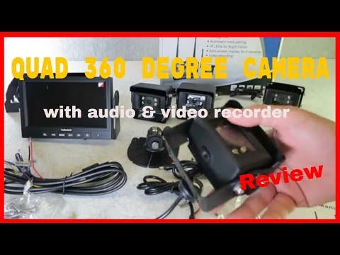Haloview MC7101 Wireless Quad Camera DVR System Review