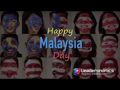 Happy Malaysia Day from Leaderonomics
