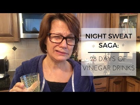 Night Sweat Saga   28 Days of Vinegar Drinks