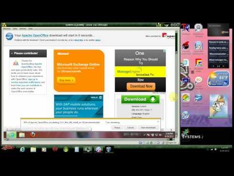 Installing Open Office Part 3: Windows 8 [HD]