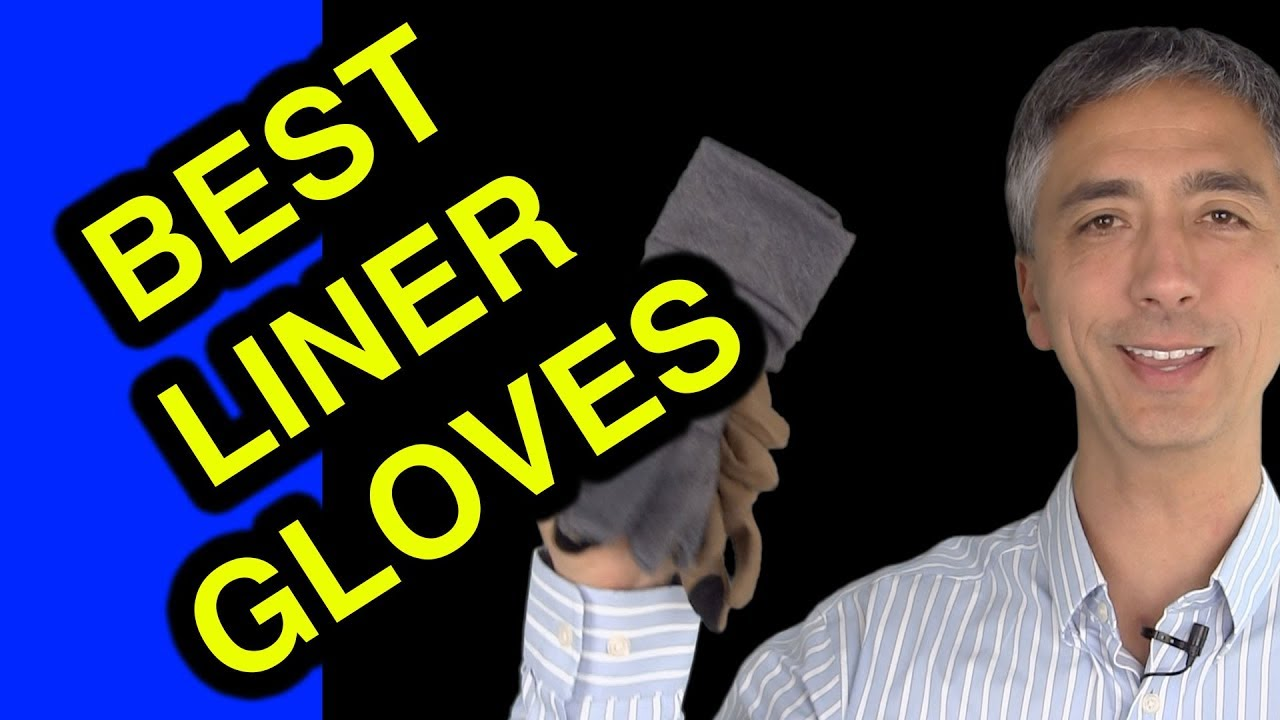 Best Liner Gloves for Cold Weather - Review Outdoor Research PL base gloves