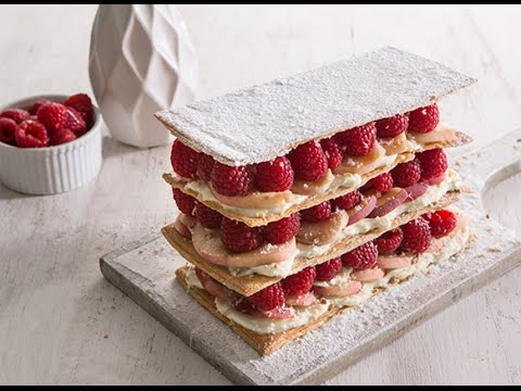 Jus Create - How To Make The Perfect Mille Feuille - Pasty Recipes from Jus-Rol™