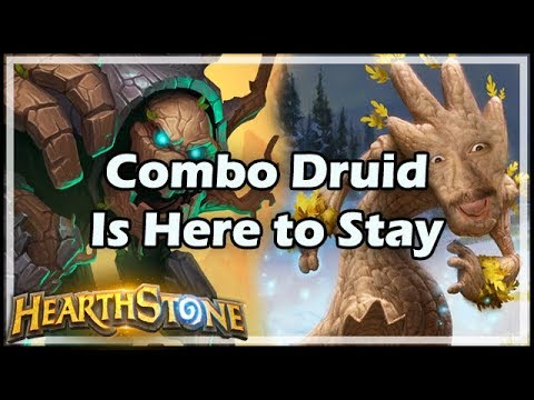 [Hearthstone] Combo Druid Is Here to Stay