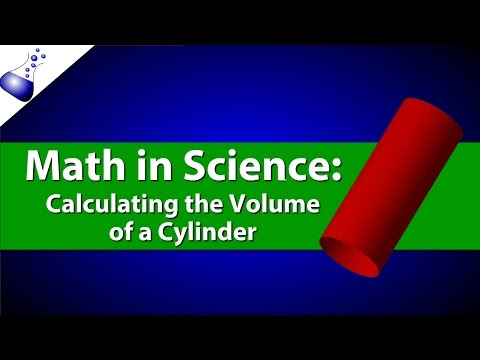 Calculating the Volume of a Cylinder