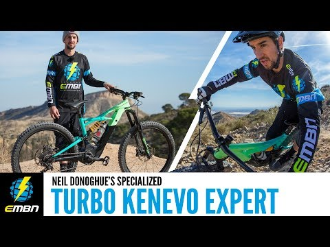 Neil Donoghue's Specialized Turbo Kenevo Expert 6 Fattie | EMBN Bike Check