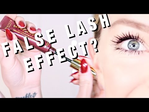 "DOES IT WORK? Facebook Made Me Buy This ""FAKE LASH"" Effect MASCARA at 3AM"