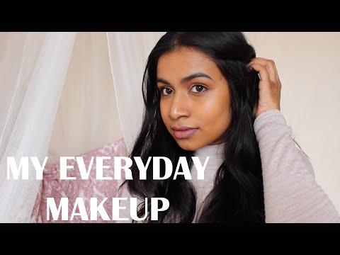 Spring Work/School Everyday Makeup Routine for Indian/Tamil/Tan Skin| Thuri Makeup