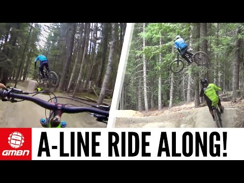 A-Line Whistler - Is This The Worlds Best Jump Trail?