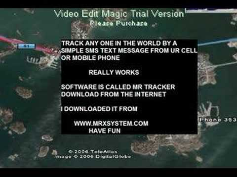 How to track any mobile phone on google earth.