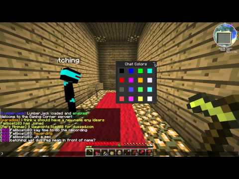 Color Chat Mod! Chat in a RAINBOW! Minecraft 1.1