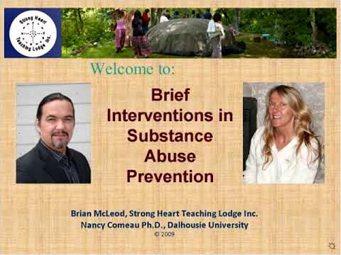 Webinar Brief Interventions to Prevent Substance Abuse among Indigenous Youth