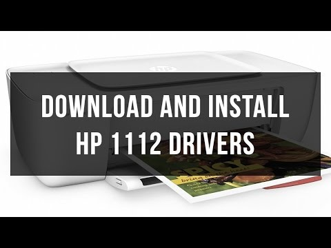 How to download and install HP 1112 driver
