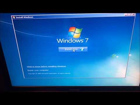 HOW TO FIX Windows 7/8 black boot screen Blinking Underscore/cursor on startup