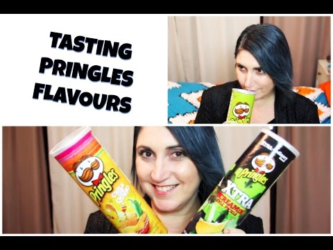 TASTING PRINGLES FLAVOURS - CookingwithKarma