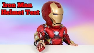 Marvel Iron Man Realistic Cosplay  Helmet by Hasbro  Unboxing And Playing With Ckn Toys