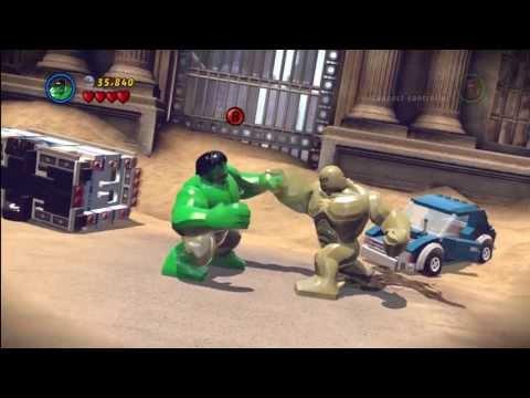 LEGO Marvel Super Heroes Hulk vs Abomination