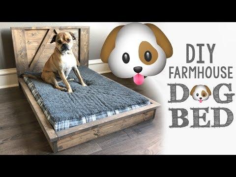 DIY Farmhouse Dog Bed