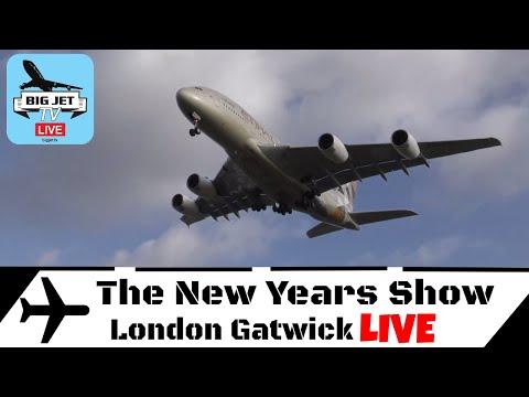 Jet Stream #71: STORM ELEANOR LIVE! At London Heathrow Airport
