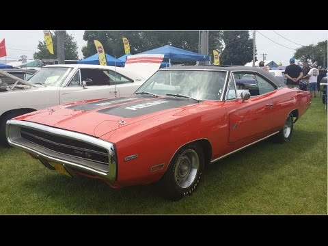 1970 Moon-roof Hemi Charger Car Show Walk-around