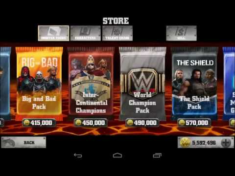 6mil+ pack opening WWE - IMMORTALS (All offline packs)