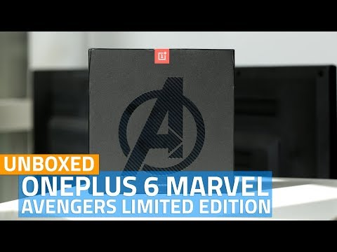 OnePlus 6 Marvel Avengers Limited Edition: What's Different