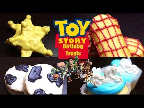 Easy Toy Story Birthday Treats