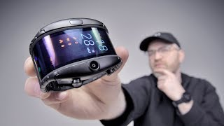 The Most Futuristic Flexible Display Phone