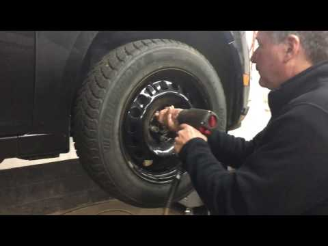 Winter Tires Issues - Vehicle Came in with Centering Ring Still On