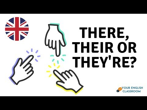 How To Use There, Their or They're - Learn The Difference - English Grammar Lesson