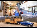 Family Of 4 & Their Stunning 5Th Wheel Tiny Home ~ Totally Custom Build mp3
