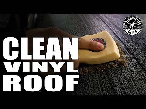 How To Clean and Restore Vinyl Roof - 1969 Camaro SS - Chemical Guys Car Care