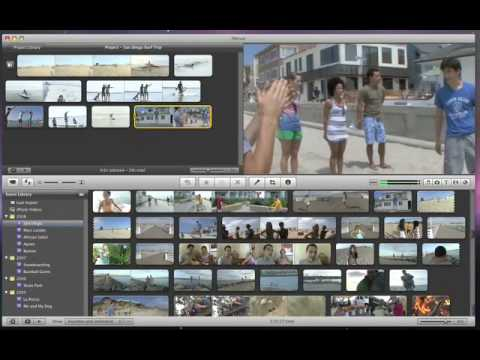 iMovie '09 - Slow Down, Speed up and Reverse Video