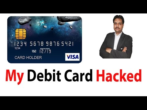My ATM  Debit Card Hacked By Various Topics