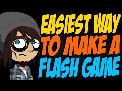 Easiest Way to Make a Flash Game