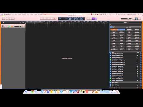 GarageBand - Setting Up Track Header