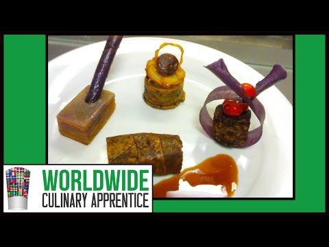 Food Plating. Food Decoration - Plating Garnishes - Food Arts - Food Presentation