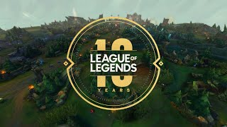 League 10-Year Kickoff - League of Legends