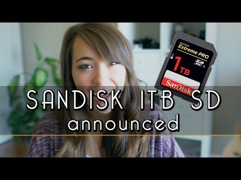 Sandisk 1TB Memory Card WTF!? | announced | atolavisuals