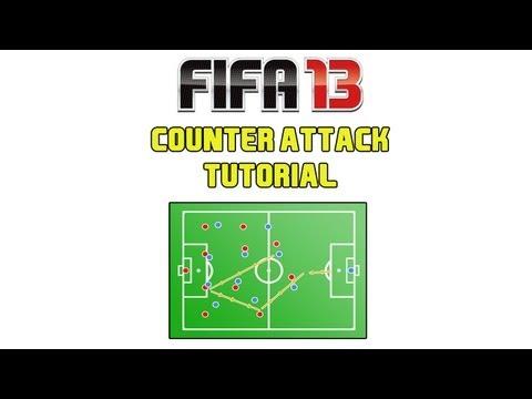 FIFA 13 Counter Attack Tutorial