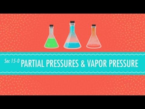 Partial Pressures & Vapor Pressure: Crash Course Chemistry #15