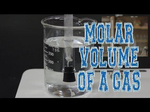 MOLAR VOLUME OF A GAS Pre-Lab - NYA General Chemistry
