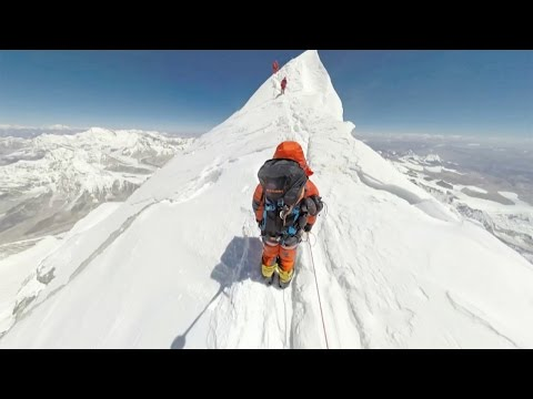 World's First 360 Photos of Mount Everest