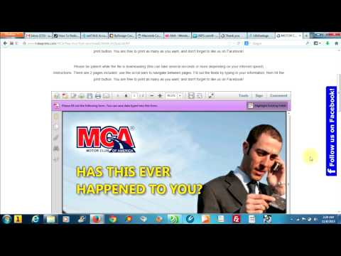 FREE MCA FLYER DOWNLOAD