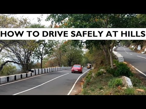 How To Drive Safely At The Hills