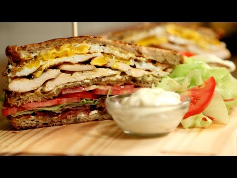 Ultimate Club Sandwich | BLT Sandwich Recipe | The Bombay Chef - Varun Inamdar
