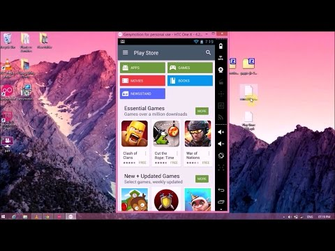 How to Install PlayStore[GoogleApps] on Genymotion 2016