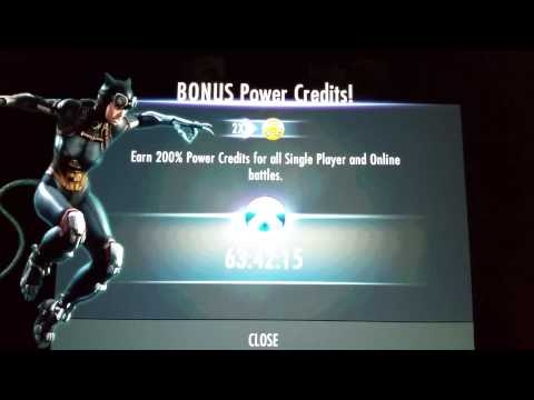 Double Power Credits Now Live