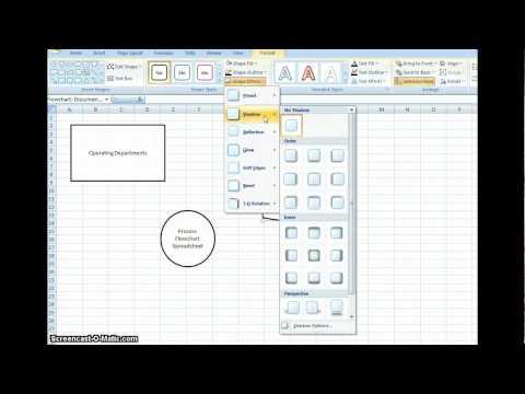 Flowchart in Excel