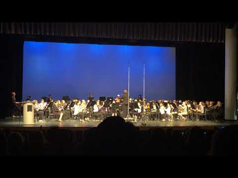 2018 North Carolina South Central All District Band Concert - Middle School